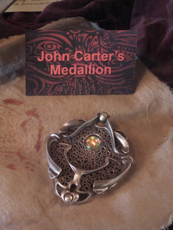 John Carter medallion prop