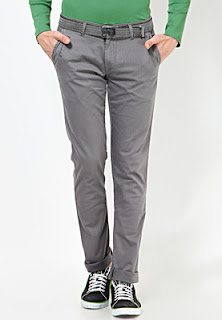 Grey coloured trousers