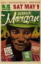 5/9 (Sat) Derrick Morgan Live In Brooklyn @ Little Field