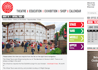 Shakespeare Virtual Globe Tour Page