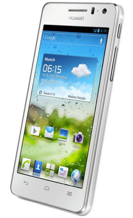 Huawei Ascend G615 Smartphone Mid-Range Quad-Core