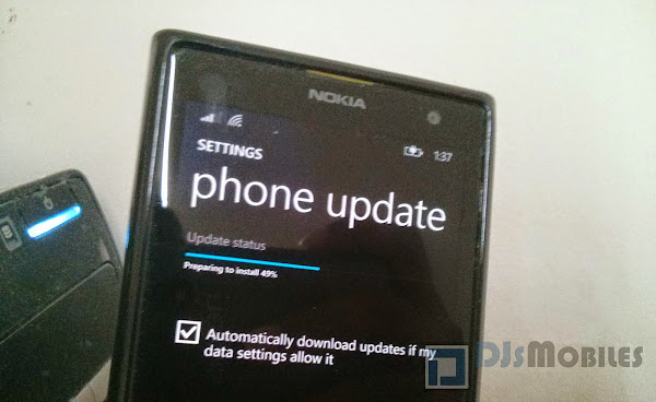 Windows Phone 8.1 receives first update