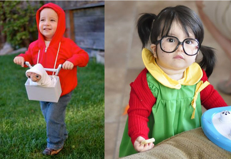 hallowen idea to disguise children