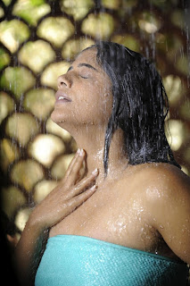 Indian Actress Priyamani in Towel Wet Photos