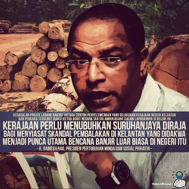 Kerajaan digesa Tubuh suruhanjaya diraja SIASAT skandal BALAK di Kelantan