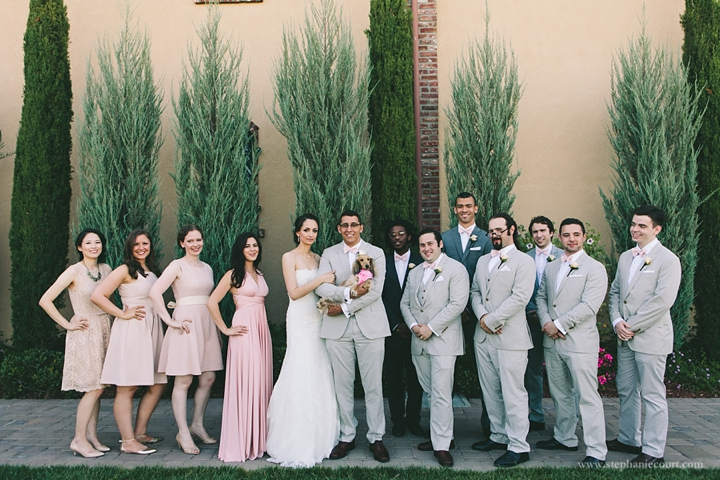 """wedding photography at palm event center by stephanie court photography"""