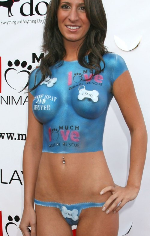 nude body painting Free