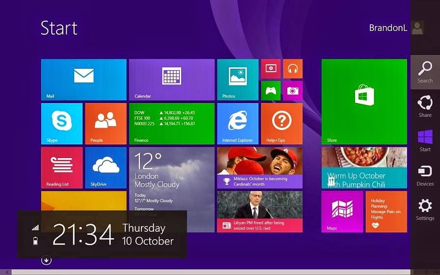 Windows 8.1 Enterprise Display