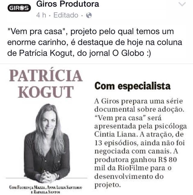 Cintia Liana e a Giros Produções
