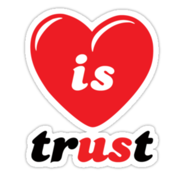 Love And Trust. love does require trust,
