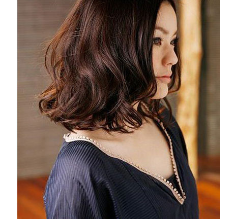 Model Rambut Bergelombang Keriting Wavy Style by Artis Korea  Gadis