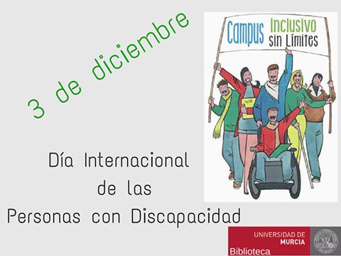 """La BUM con el """"Día Internacional de las personas con discapacidad""""."""