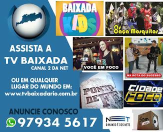 ANUNCIE NA TV BAIXADA
