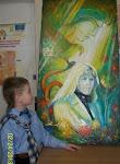 Renara Verejanu în viziunea artistului plastic Ion Chitoroagă