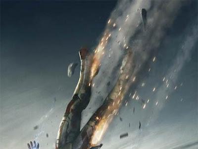 Tony Stark en caída libre en nuevo cartel de Iron Man 3
