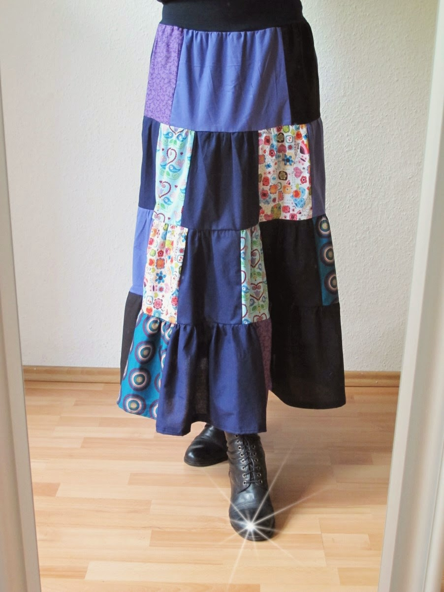 Upcycling-Tuesday Upcycling Skirt Sewing Nähen