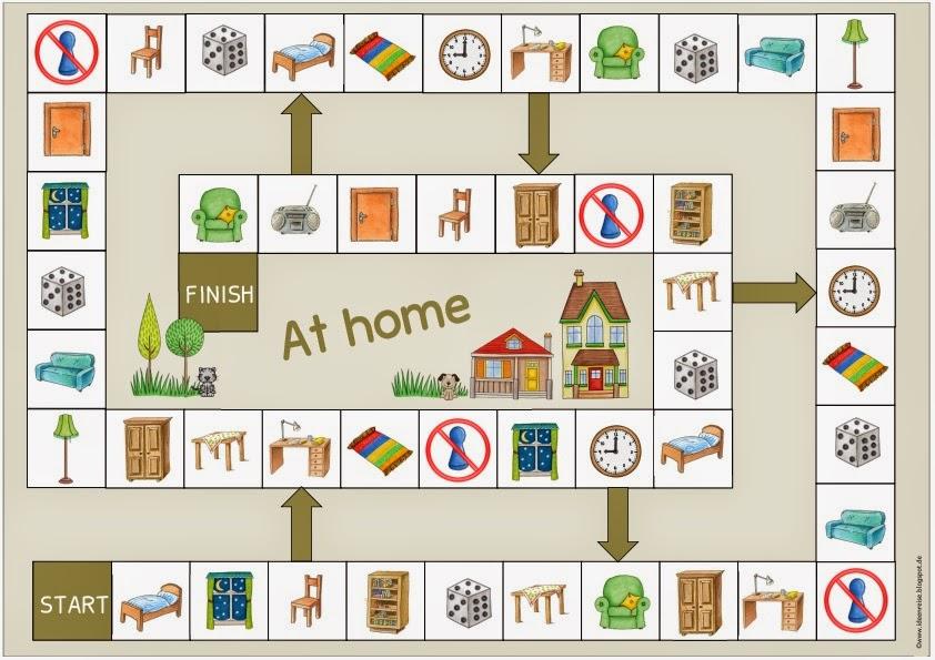 ideenreise spielfeld im haus f r englisch und daz. Black Bedroom Furniture Sets. Home Design Ideas