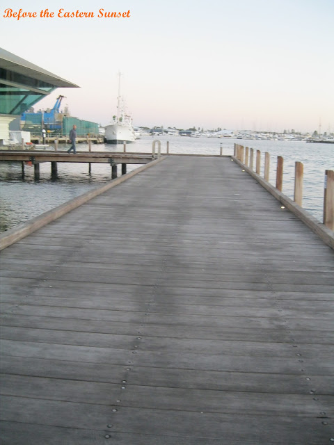 Fremantle City wharf