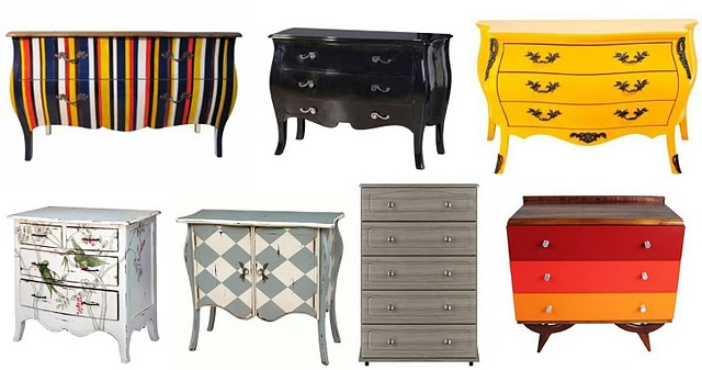 decoracao de interiores estilo handmade:Comoda Estilo Francês Handmade- Mobiliario Interno sob Encomenda SP
