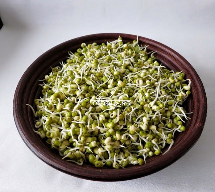 make moong sprouts at home
