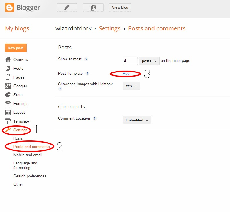 How to make a signature for your blog posts on blogger
