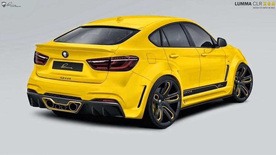 BMW X6専用に設計されたLUMMAデザインのチューニングプログラム「LUMMA CAR X6R」