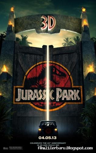 Jurassic Park 3D 2013 Bioskop