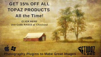 Get 15% off All Topaz Products All the Time!