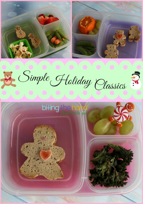 Simple cookie cutters make fun easy holiday lunches!