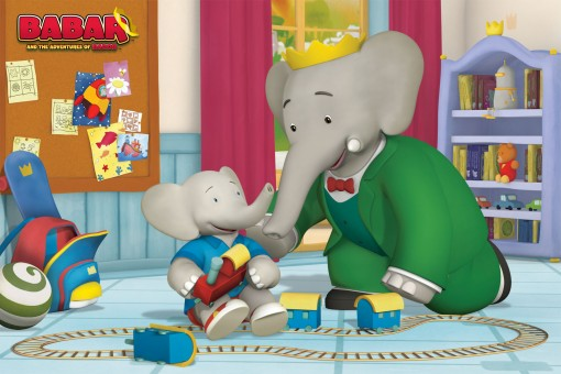 Babar and the Adventures of Badou Animated Cartoon