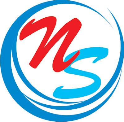 Desain: Logo Air Minum NS Depot Nursakinah