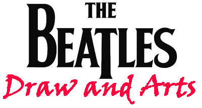 Beatles draw and arts