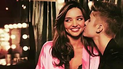 Miranda Kerr and Justin Bieber
