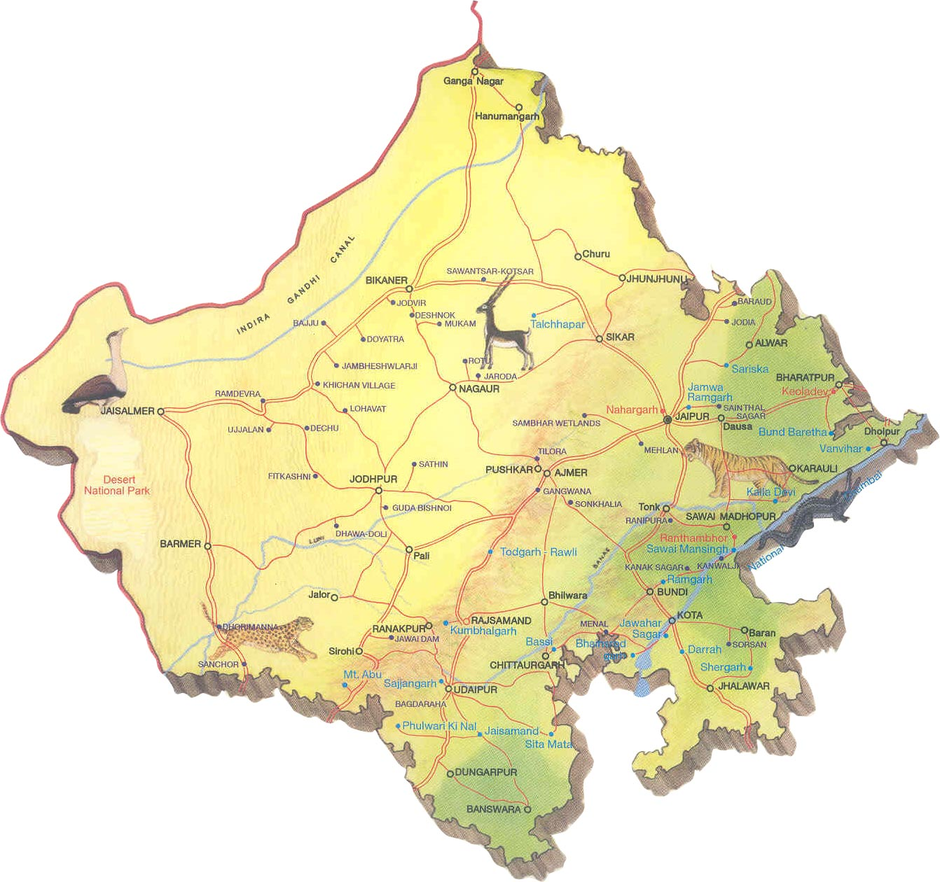 Image result for rajasthan agriculture map