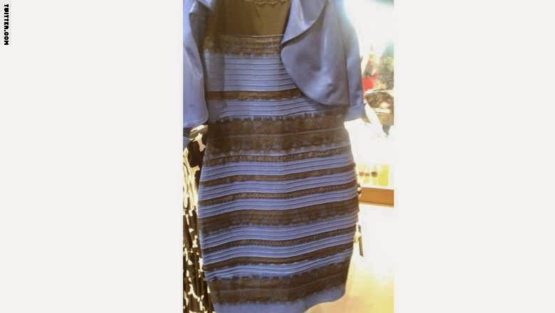 تعرف على حقيقة لون الفستان الذي حير العالم بالفيديو ..