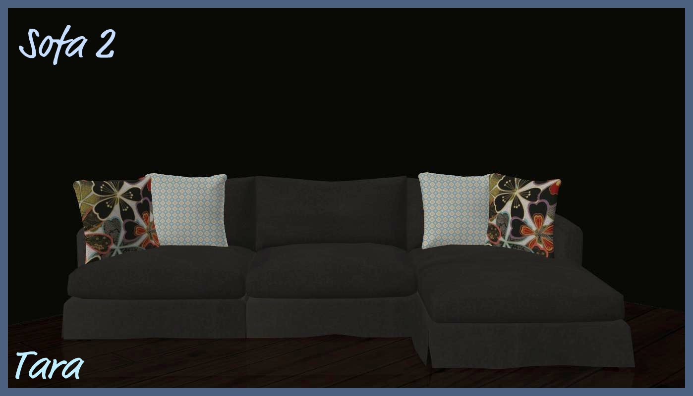 Sims 2 Creations By Tara TeaCoffee Livingroom Recolors