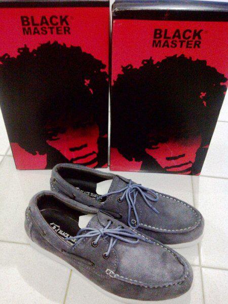 Sepatu Blackmaster Low BM08 ABU