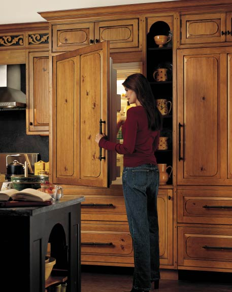 Various Types Built-In Refrigerators to Make Your Kitchen