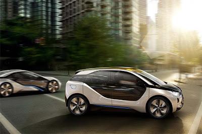 BMW i3 and BMW i8 concept revealed 2 BMW i3 & i8, Konsep Mobil Listrik Masa Depan