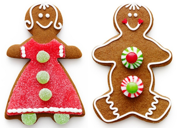 gingerbread cookies, Dunkin' Donuts
