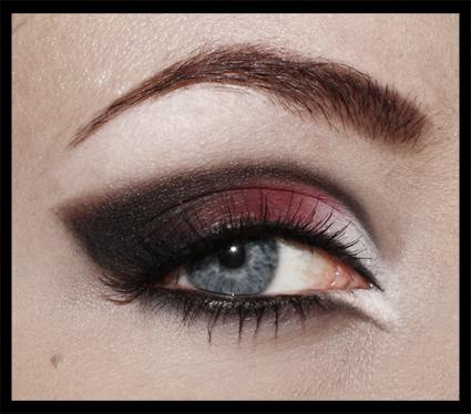 clarins eyeshadow palette tutorial