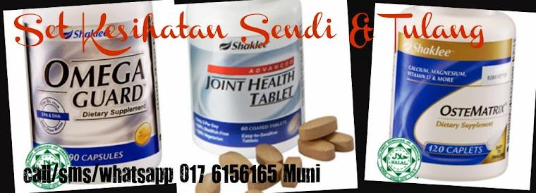 Set Untuk kesihatan Sendi dan Tulang