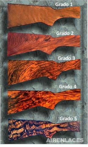 Grados de calidad de maderas