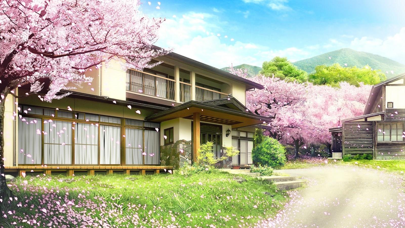House Anime Background
