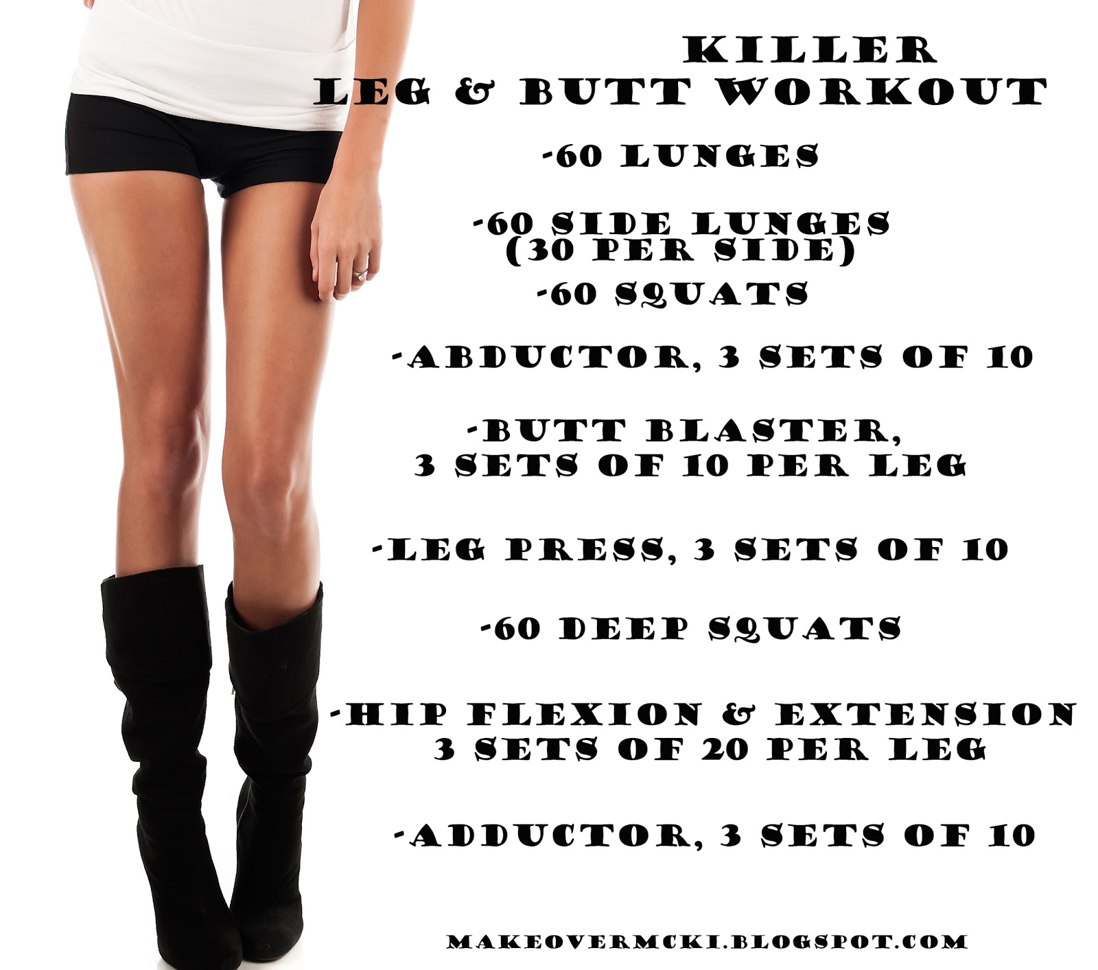 Butt and legs workout