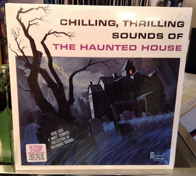 Disney 2015 Vinyl LP Record, Haunted Mansion