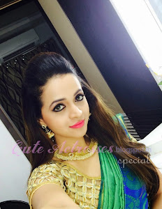 Bhavana for the grihalakshmi shoot in blue dress only cute actresses bhavana on new pulimoottil silks ad behind scenes altavistaventures Image collections