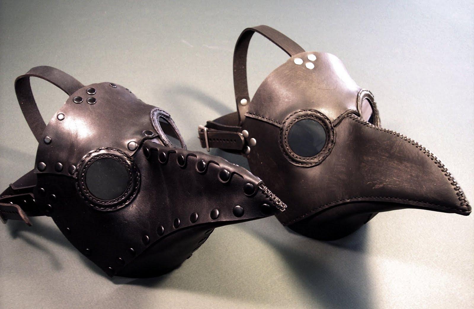 Beak Shaped Mask Shape of The Mask as Close