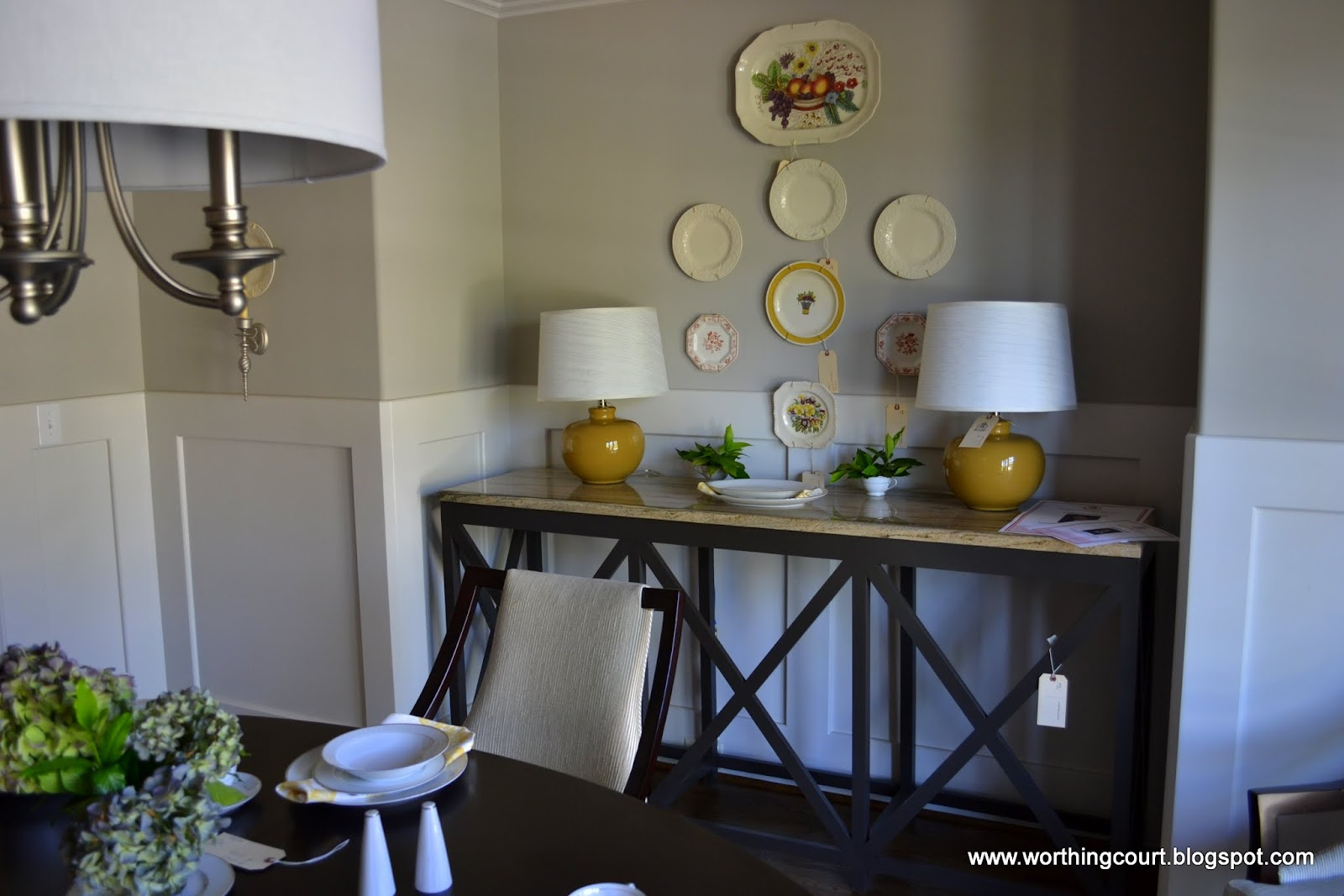 Chic chateau showhouse dining rooms worthing court chic chateau showhouse dining rooms dzzzfo