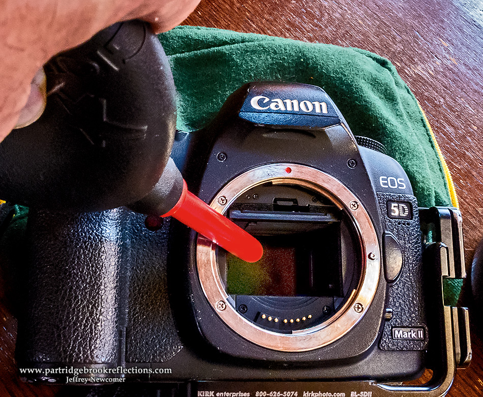 Camera Rocket Blower : Getting it right in the digital camera sensor dust